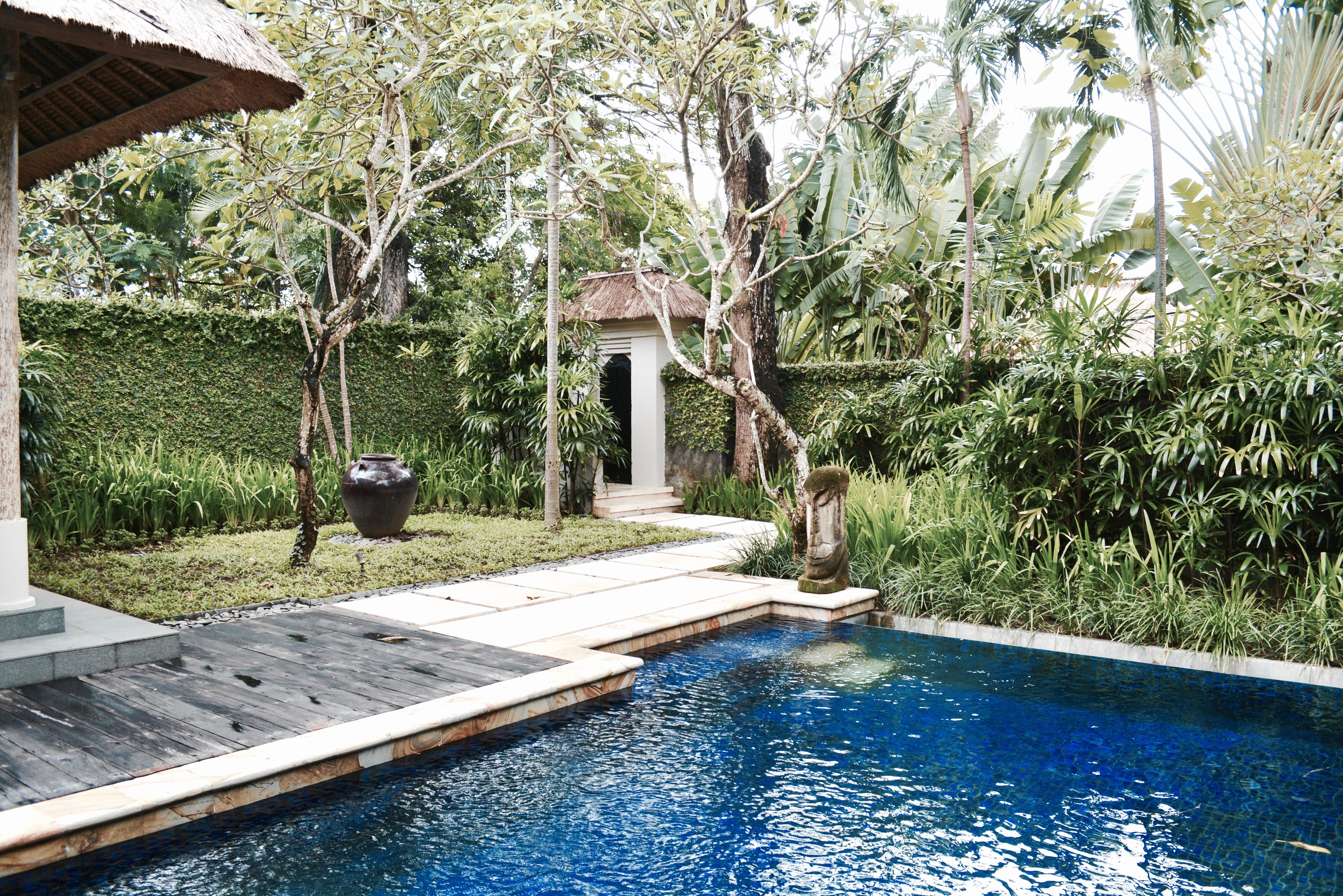 Kayumanis Private Villa Sanur Swimming Pool Woody World